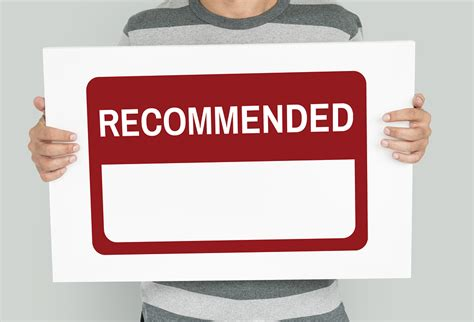 we want your recommendations society for the study of