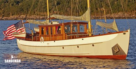 small motor boats for sale in india alden 62 ft motor sailer 1938 sandeman yacht company