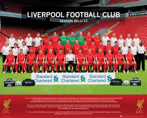 Liverpool The 12th Poster Kayu 30x22 liverpool 12 13 poster sold at europosters