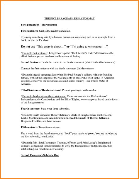 informative thesis statement thesis statement exles www pixshark images