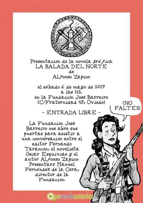 la balada del norte 8415685653 presentacin de la novela grfica la balada del norte otros eventos en oviedo uviu asturias