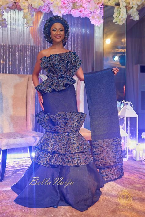 Bank W And Adesua Etomi's Traditional Wedding Pictures #