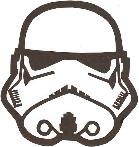 Stormtrooper Template stormtrooper outline clipart best