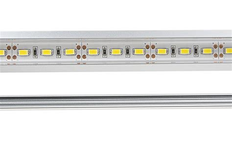flush mount led light bar linear led light bar fixture w dc barrel connectors