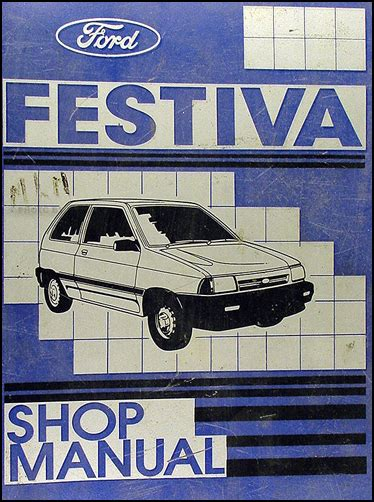 car owners manuals free downloads 1989 ford festiva electronic valve timing 1989 ford festiva repair shop manual original