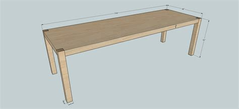 how to build a simple desk how to build a maple parsons table for 12 part 1