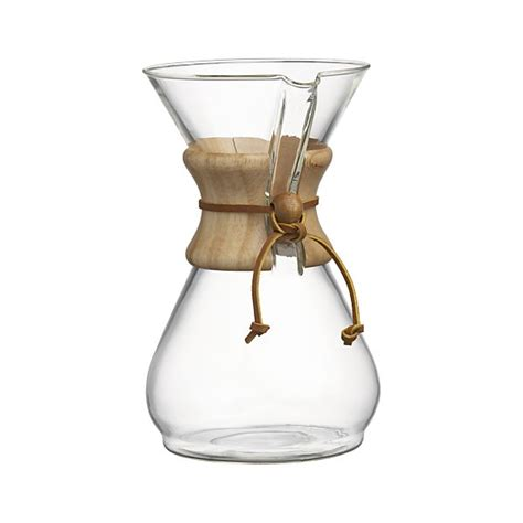 Chemex 8 Cup Coffee Maker   Crate and Barrel