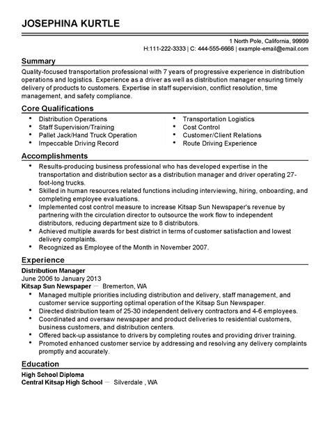School Driver Resume by School Driver Resume Summary Sidemcicek