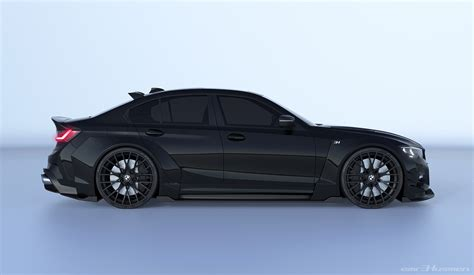 2020 Bmw Concept by 2020 Bmw 3 Series Rendered With Race Car Concept Kit