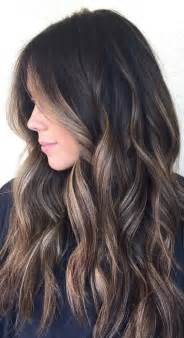 what color highlights for black hair 25 best ideas about hair highlights on