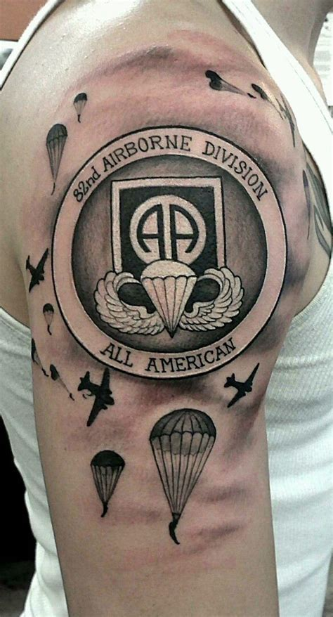 airborne tattoo designs kick 82nd idea for other airborne tattoos