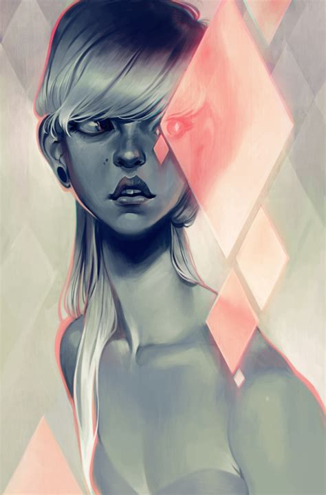 the art of loish blush art print by loish society6