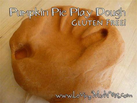 pumpkin pie play dough gluten  playdough halloween activities  kids gluten
