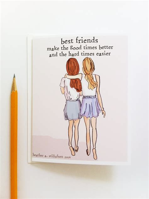 card for friend miss you card best friends card bon voyage card miss you