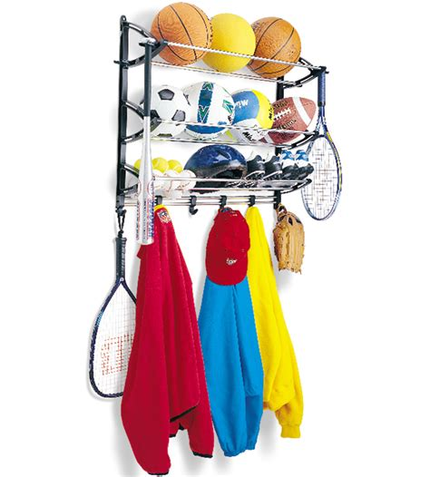 Sports Storage Rack by Sports Equipment Storage Rack In Sports Equipment Organizers