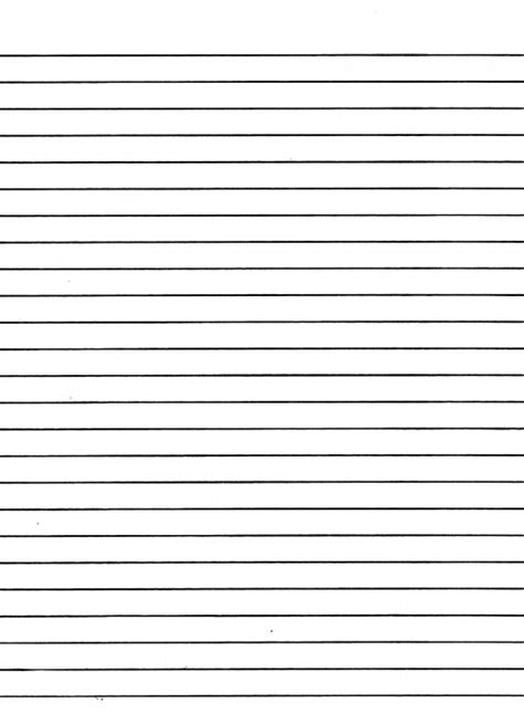 printable lined notepad paper 8 best images of printable writing paper template