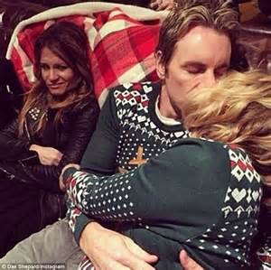 kristen bell instagram kristen bell shares kissing photo with husband dax shepard