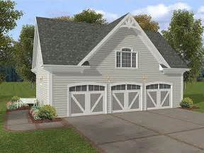 3 Car Garages by 3 Car Garage Plans Three Car Garage Loft Plan With