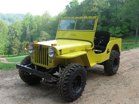 Jeep Franklin Nc 1946 Cj 2a Franklin Nc 9500 Ewillys