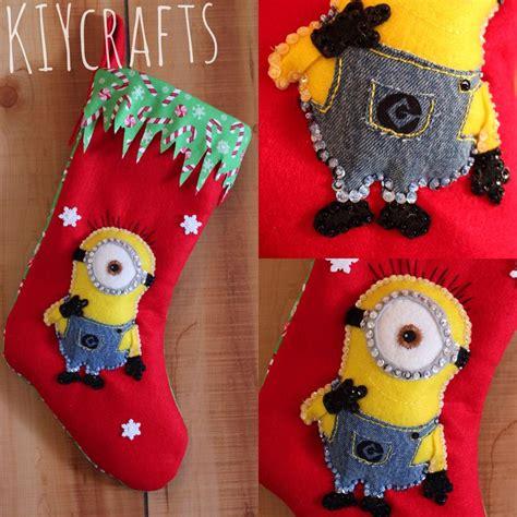 crochet pattern for minion christmas stocking minion christmas stocking things i made etsy com