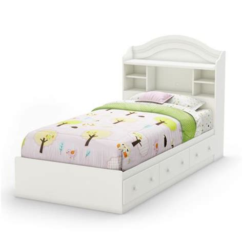 twin mates bed south shore savannah 39 inch twin mates bed with 3 drawers