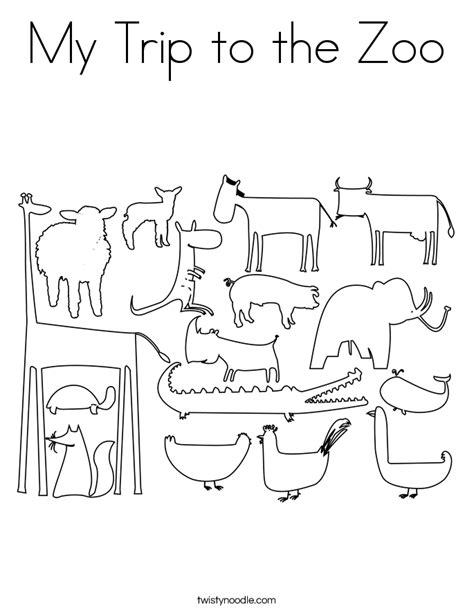 zoo map coloring page free zoo entrance coloring pages