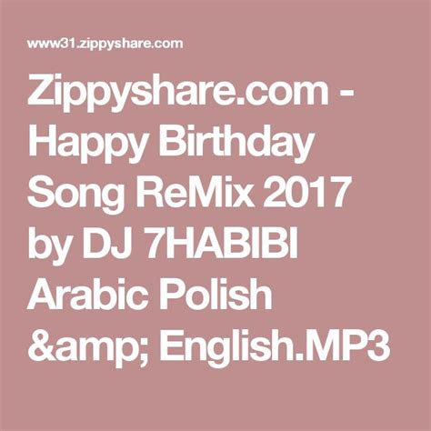 download mp3 happy birthday 1000 ideas about free happy birthday song on pinterest