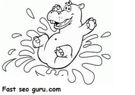 happy hippo coloring page 06 40