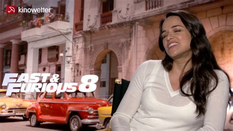 fast and furious 8 michelle interview michelle rodr 237 guez fast furious 8 youtube