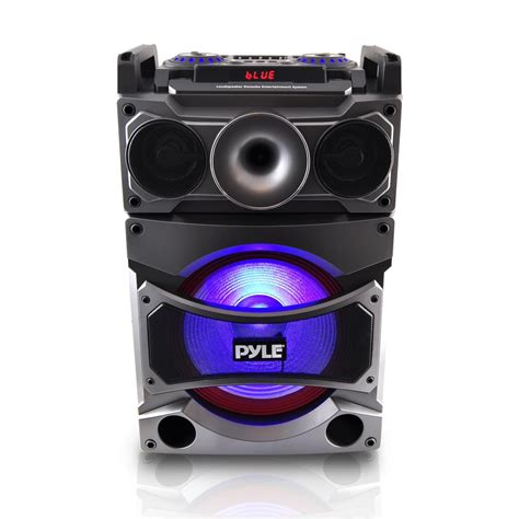 Speaker Karaoke pyle 2000w 12 quot portable active dj pa speaker bluetooth karaoke wireless mic ebay