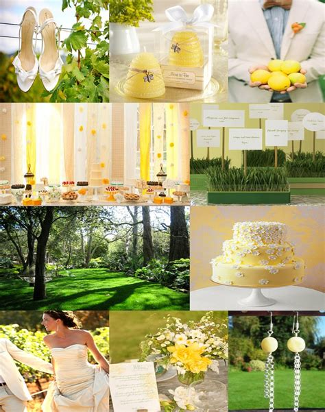 108 best images about lemon lime weddings on yellow weddings receptions and themed