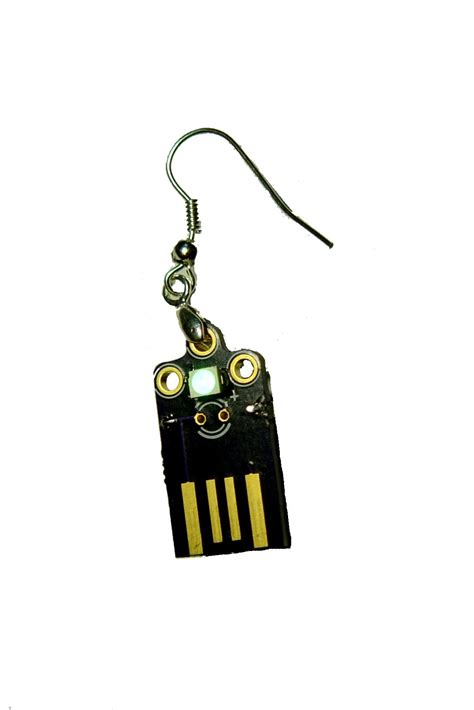 supercapacitor usb usb supercapacitor led earrings from bobricius on tindie