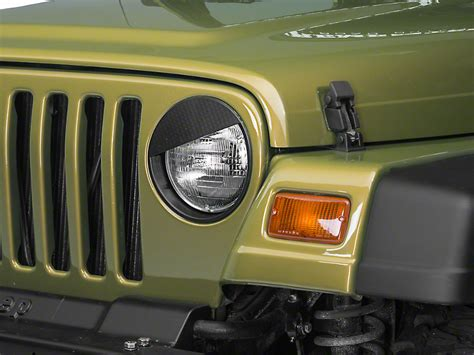 jeep angry headlights redrock 4x4 wrangler angry headlight conversion