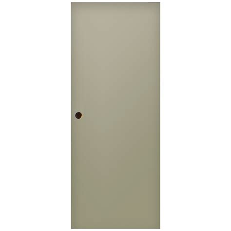 Shop Milliken Flush Slab Entry Door Common 32 In X 80 In Slab Exterior Door