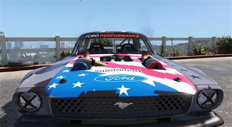 gta 5 ford mustang 1965 rtr hoonicorn v2 add on replace