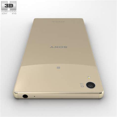 Sony Z5 Gold Second Ori sony xperia z5 premium gold 3d model hum3d