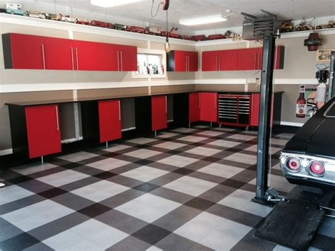 cool garage floors cool racedeck garage floor design in home garage garage