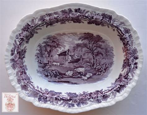 Shaun The Sheep Soup Salad Bowl 17 best images about purple transferware on