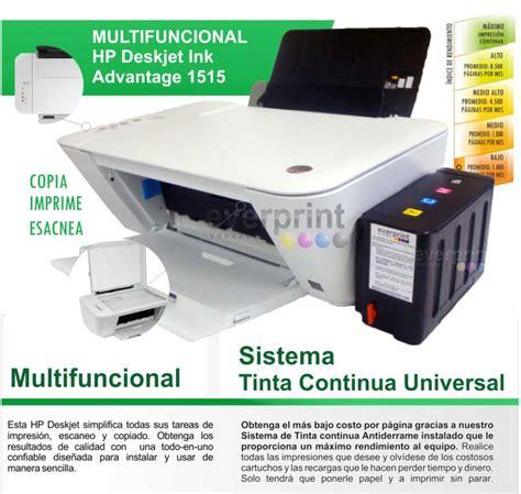 reset impresora hp deskjet 1515 impresora multifuncional hp 1515 con sistema de tinta