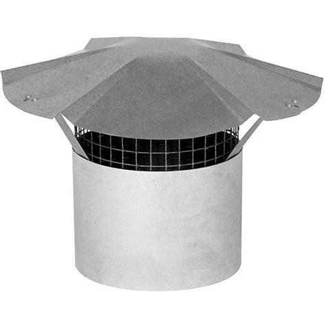 6 inch chimney rain cap imperial 6 inch galvanized steel chimney cap the home