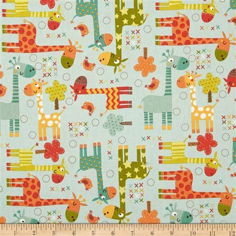 discount home decor fabric my home riley blake home decor giraffe blue discount designer