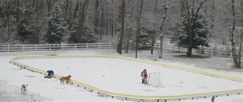 ice skating rink for backyard backyard ice skating rinks savol pools