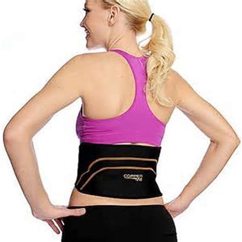 Lumbar Support Wb 527 copper fit back pro as seen on tv compression lower lumbar support belt us stock ebay