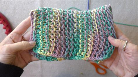 different stitches on knitting loom learn the basic stitches for loom knitting dish cloths