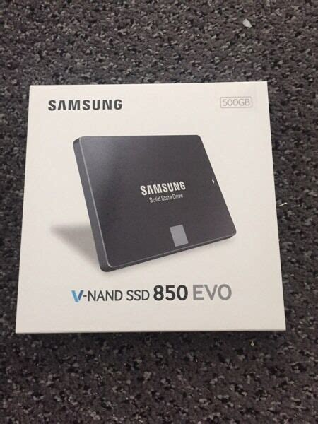 samsung v nand ssd 850 evo 500gb in east kilbride glasgow gumtree