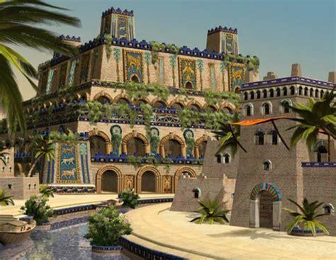imagenes jardines colgantes babilonia las siete maravillas del mundo antiguo moderno y natural