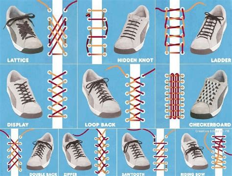 ways to lace running shoes 10 ways to lace up your shoes creatively