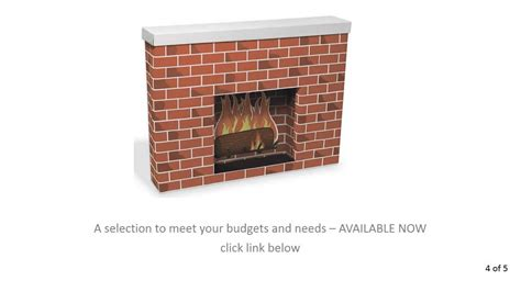 where buy cardboard fireplace available now