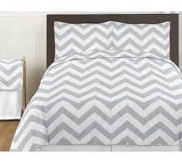 King Size Bedding Chevron Grey White Chevron Print Bedding Set 3 King Size