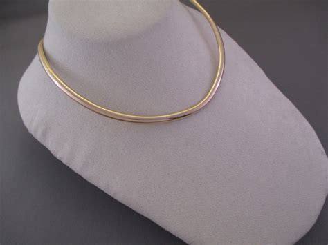 gold collar 14kt gold collar necklace by artie yellowhorse gold collar necklace
